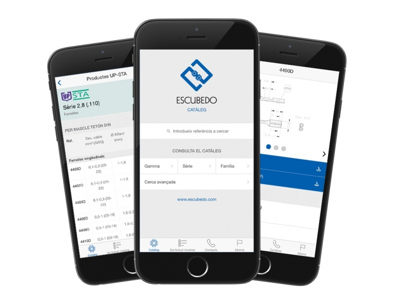 Escubedo presents its new mobile app