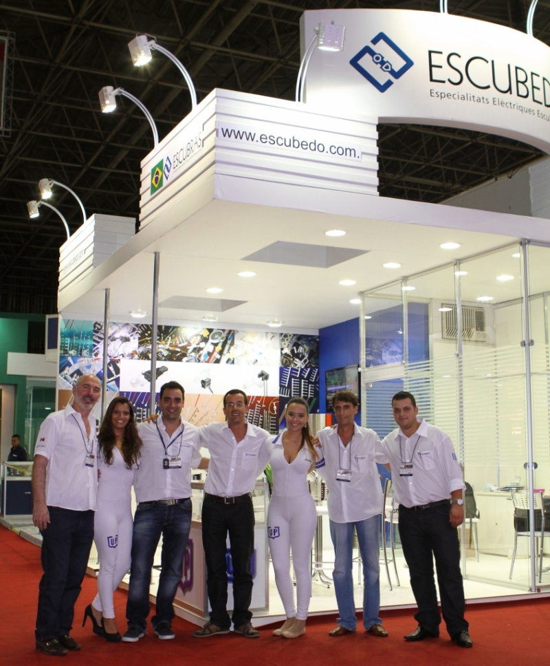 Escubedo takes part in the 27th FIEE in Sao Paulo, Brazil
