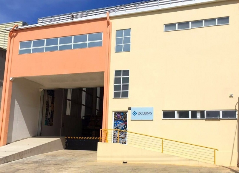 New location of the Escubedo subsidiary in Brazil