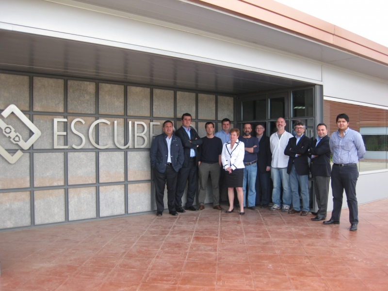 Meeting of Escubedo's subsidiaries