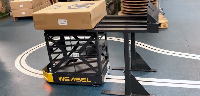 The new Escubedo headquarters will boast Weasel® automated guided vehicles (AGVs) by SSI Schaefer